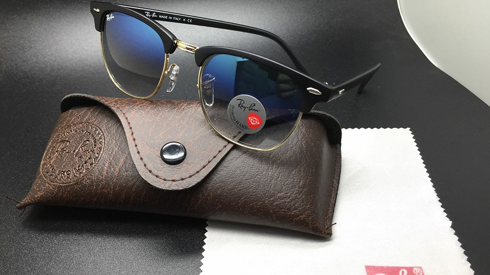 Ray-Ban Club master Sunglasses black & Black Frame / Brown Lens!!!