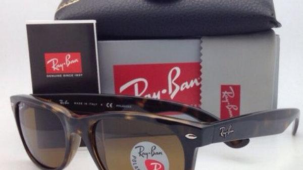 RAY-BAN  Sunglasses RB  NEW WAYFARER  w/Brown Lenses