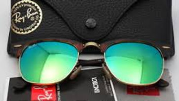Ray Ban Sunglasses Clubmaster Blue lens