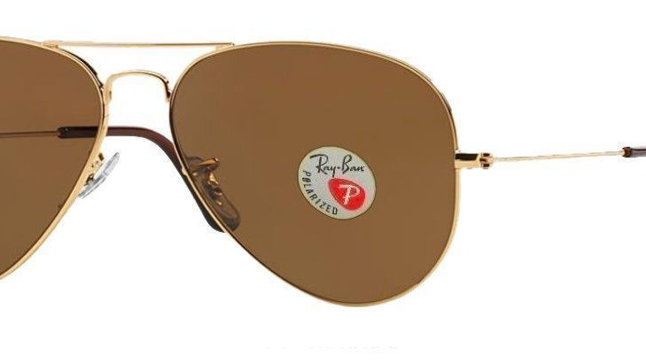 RayBan Aviator  Sunglasses - Gold Brown