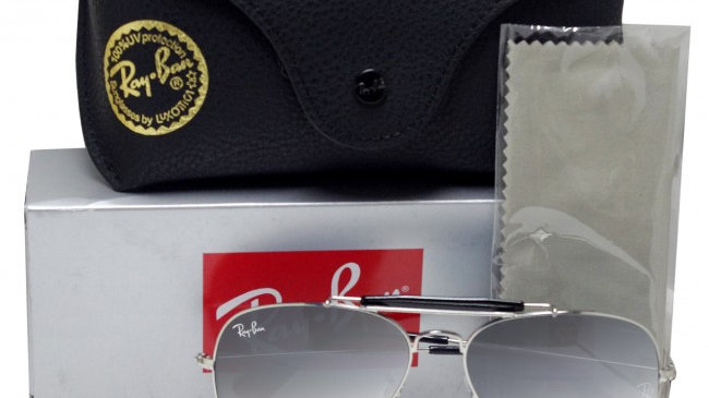 Aviator Outdoorsman Silver Grey Sunglasses