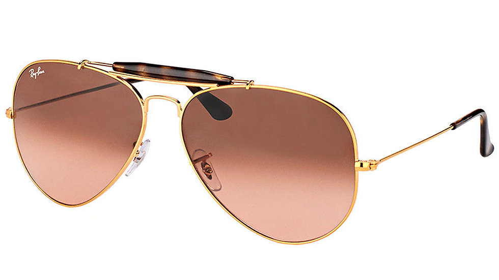 Ray-Ban  RB Light Bronze Sunglasses Pink Shaded Lens