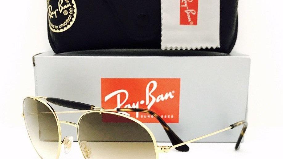RayBan Aviator  Sunglasses - Gold Brown
