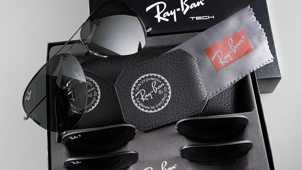 Aviator Sunglasses with Box