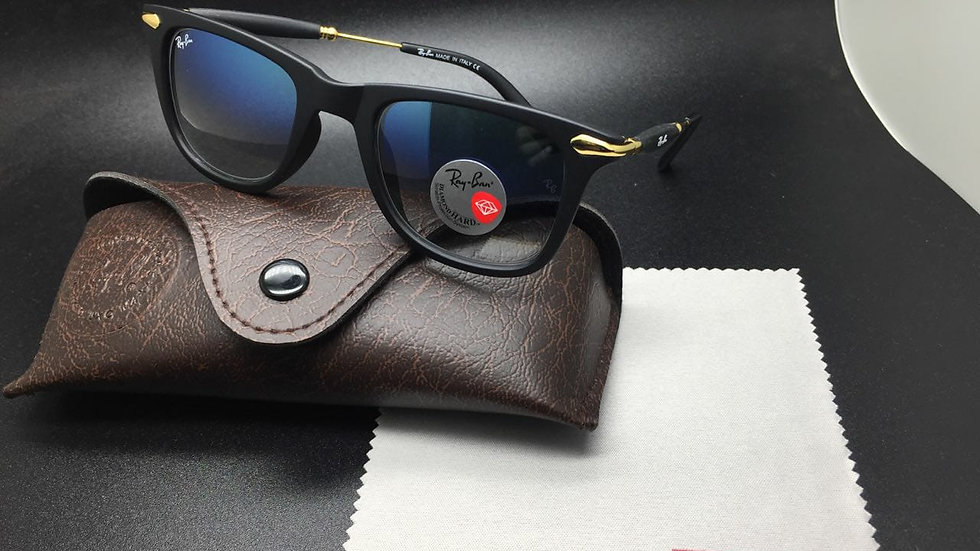 Ray-Ban New Wayfarer RB Matte Black  Sunglasses