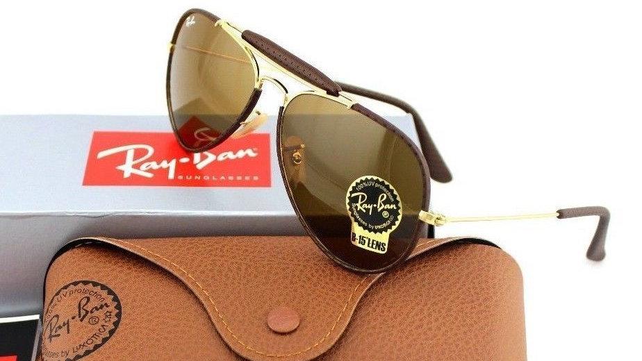NEW RAY-BAN Aviator Glass Lens Sunglasses RB