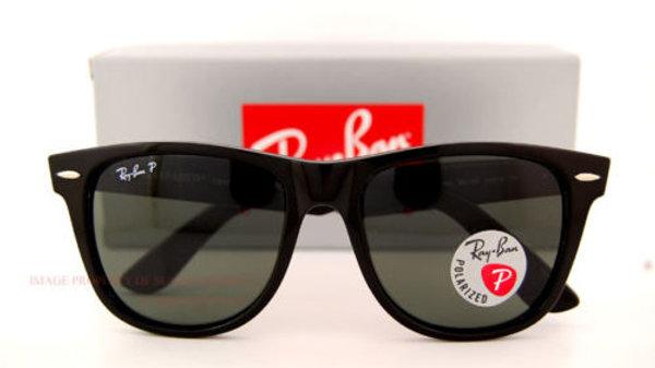 New Ray-Ban Sunglasses RB  Wayfarer Black