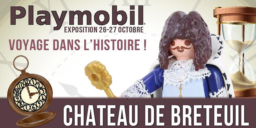 2ème exposition Playmobil au château de Breteuil