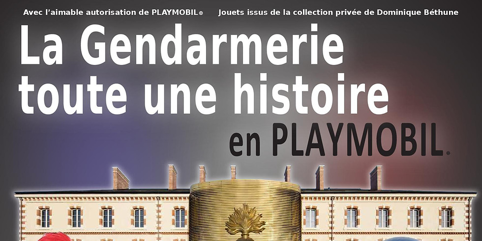 Exposition Playmobil au Musée de la Gendarmerie Nationale de Melun