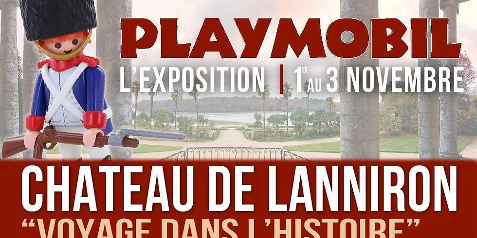 2ème Exposition Playmobil au château de Lanniron | Quimper