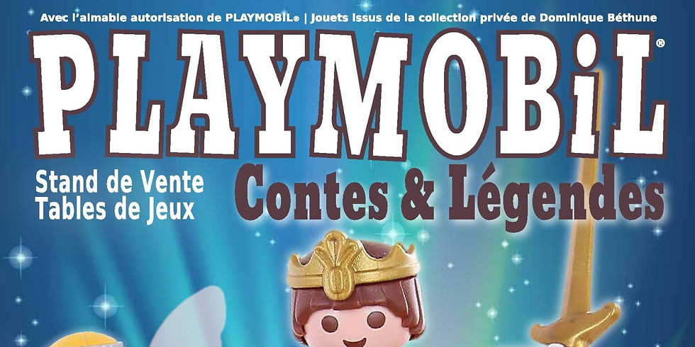 Exposition et Vente de jouets Playmobil à Gretz-Armainvilliers