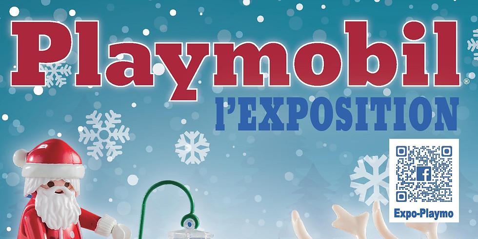 Exposition Playmobil au marché couvert de Châteaubriant
