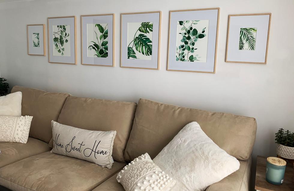 Plant Watercolors