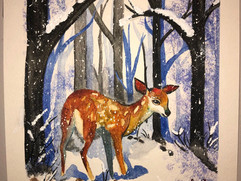 A Deer in the Forrest