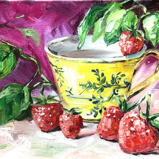 A Tea with Strawberries