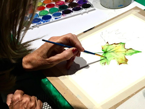 Painting a Leaves