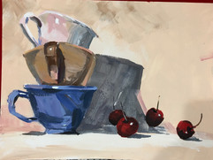 Still Life with cups