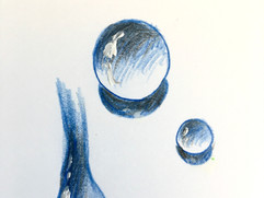 Water Drops. Volume.