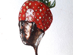 A Strawberry in Chocolate