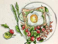 Breakfast Painting