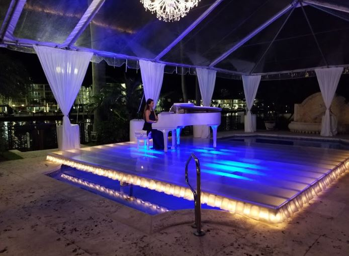 Solo Piano at a Dinner Soirée