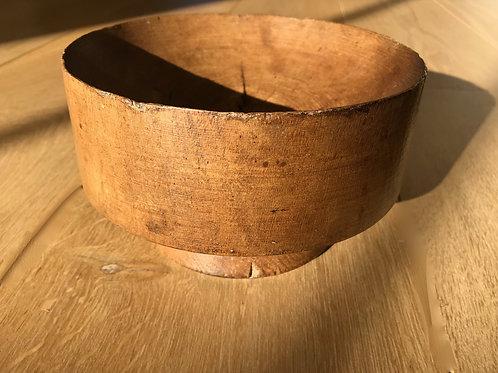 Antique Sussex Log Bowl