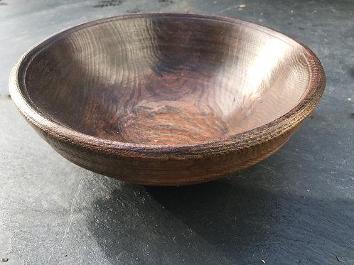 Antique Elm Bowl