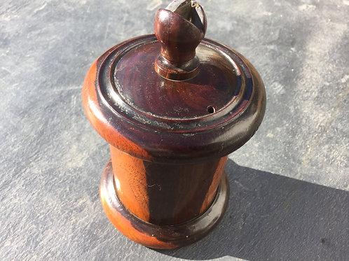 Antique Lignum Vitae String Box ex Pinto