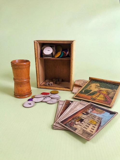 Antique Bell & Hammer Game