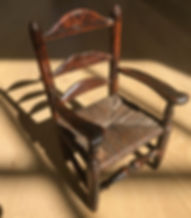 antique treen mini chair for sale opus a