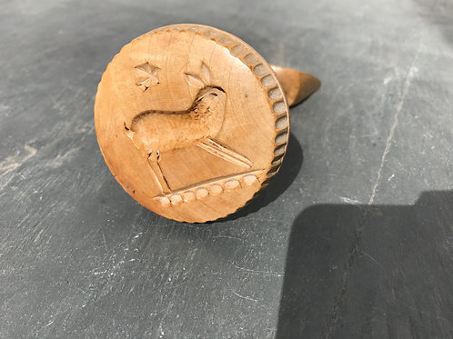 An Unusual Butter Stamp, Curler and Roller