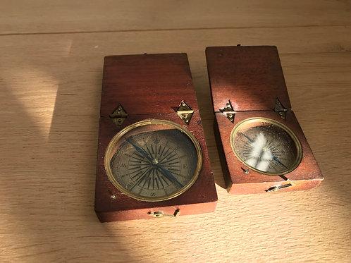 An Antique Explorer's Compass