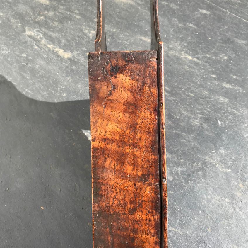 Antique treen oak tinder box for sale, opus antiques uk4