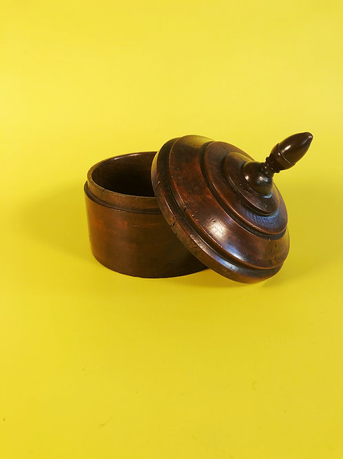 Antique Oak Spice Box - English  18th century