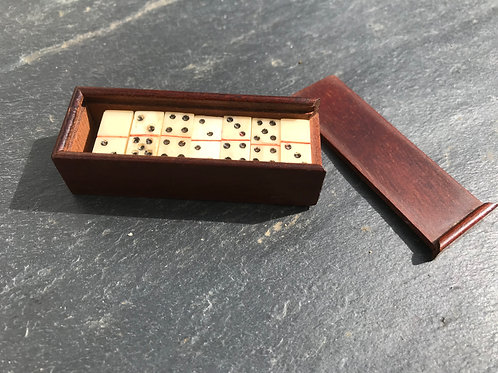 Antique Mini Dominoes