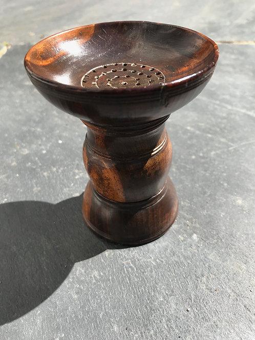 A Rare English Double Opening Pounce Pot