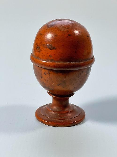Antique Treen Pill Silverer