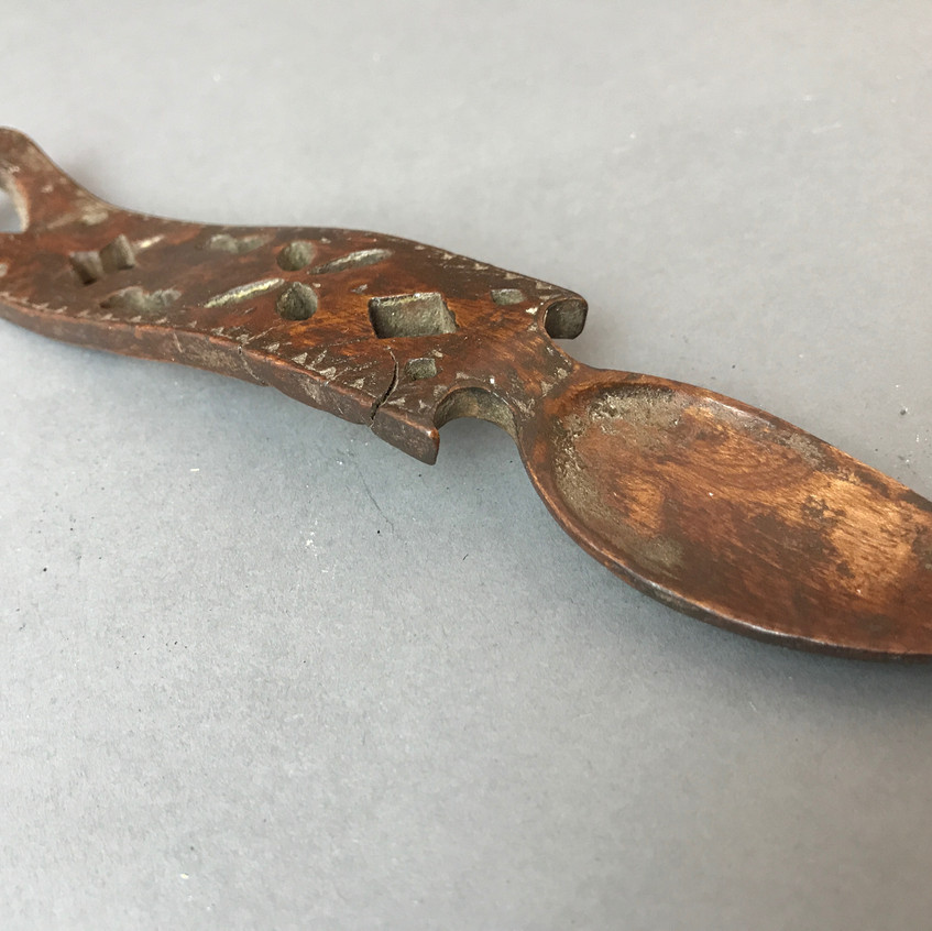 Antique Welsh love spoon, to buy, Opus Antiques UK5