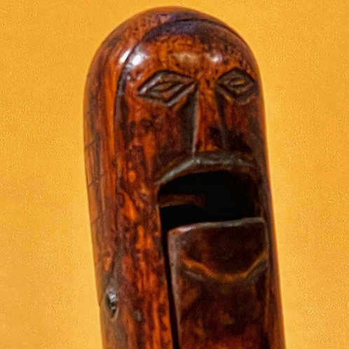 An Unusual Primitive Figural Nutcracker