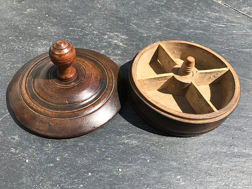An Unusual 18th Century Spice Box