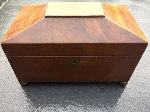 An Antique Tea Caddy