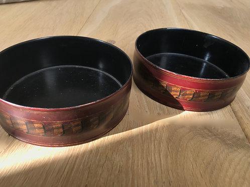 A Pair of Antique Regency Wine Coasters