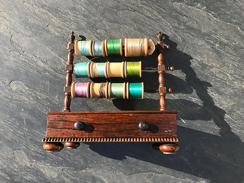 Antique Cotton Reel Stand