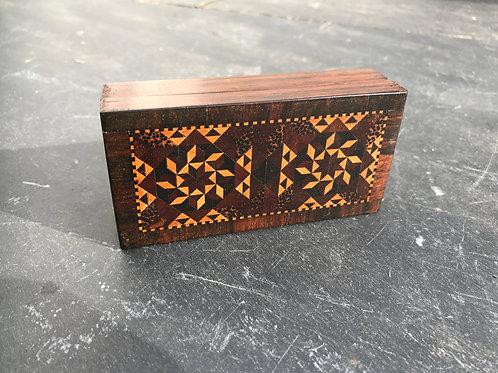 A Small Antique Tunbridge Ware Box