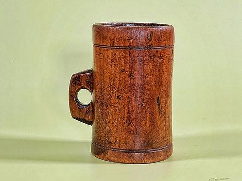 Antique Treen Pint Measure
