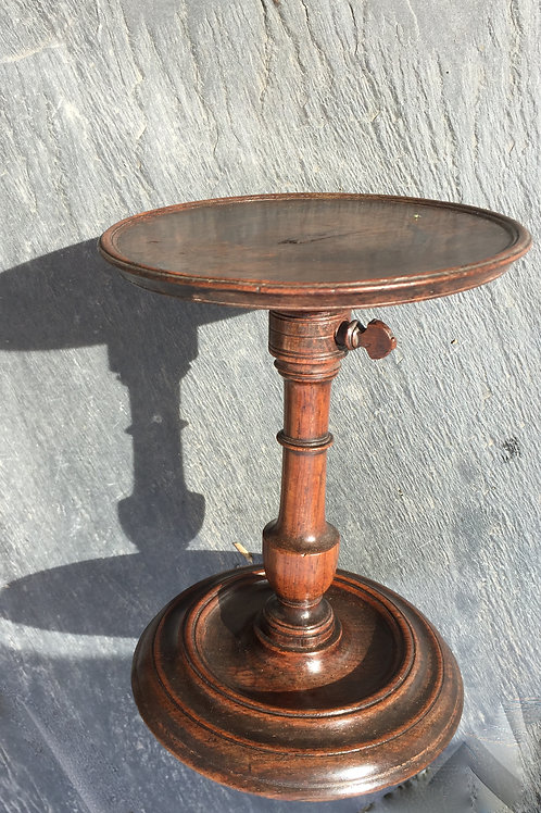 Antique Rosewood Candle Stand