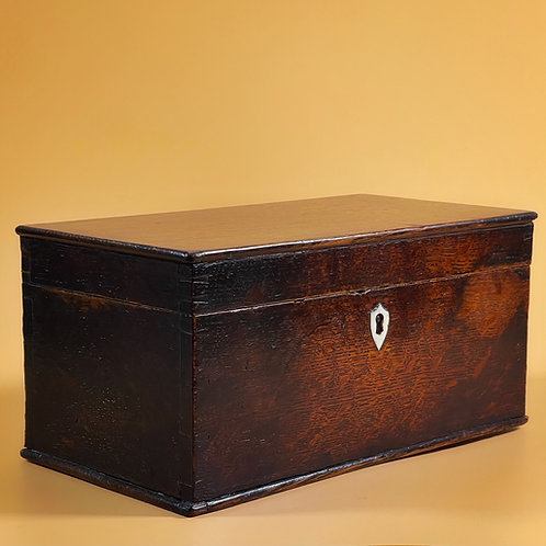 Antique Oak Storage Box