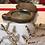 Thumbnail: Antique Treen Pocket Mirror