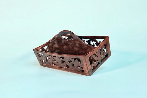 Antique Rosewood Desk Tidy