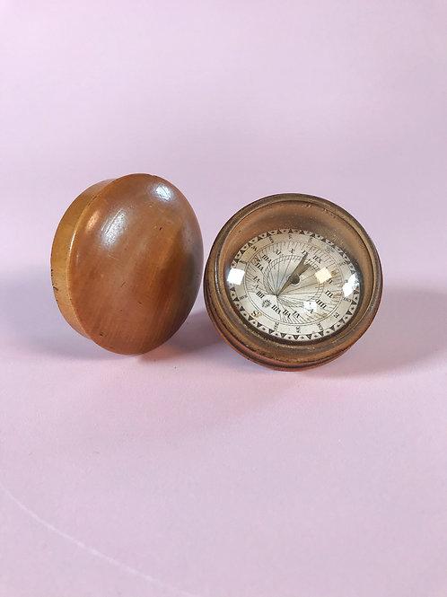 Antique Sun Dial & Compass
